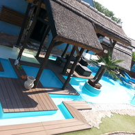Panorama photo at Pool