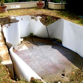 Pool reconstruction